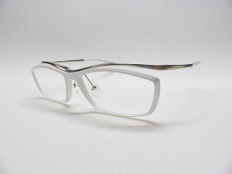 JN-584 Mat White & Shirring Silver