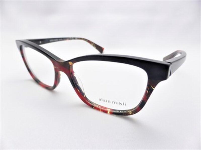 A03037 noir mikli/palmier rouge