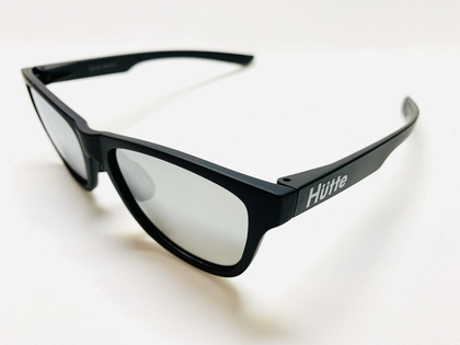 完売しました/HUTTE02/ホワイトロゴ ブラック(艶なし)/ ホワイトロゴ