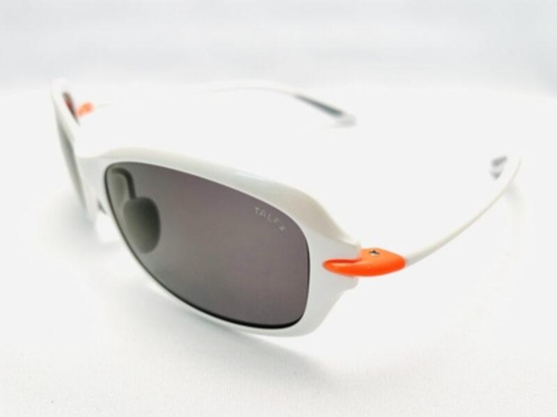 FLAT11 パールホワイト/グロスオレンジ パールホワイト/グロスオレンジ