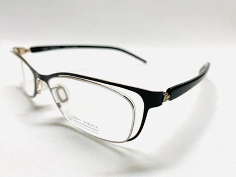 ES-6067 shiny black / shiny gold